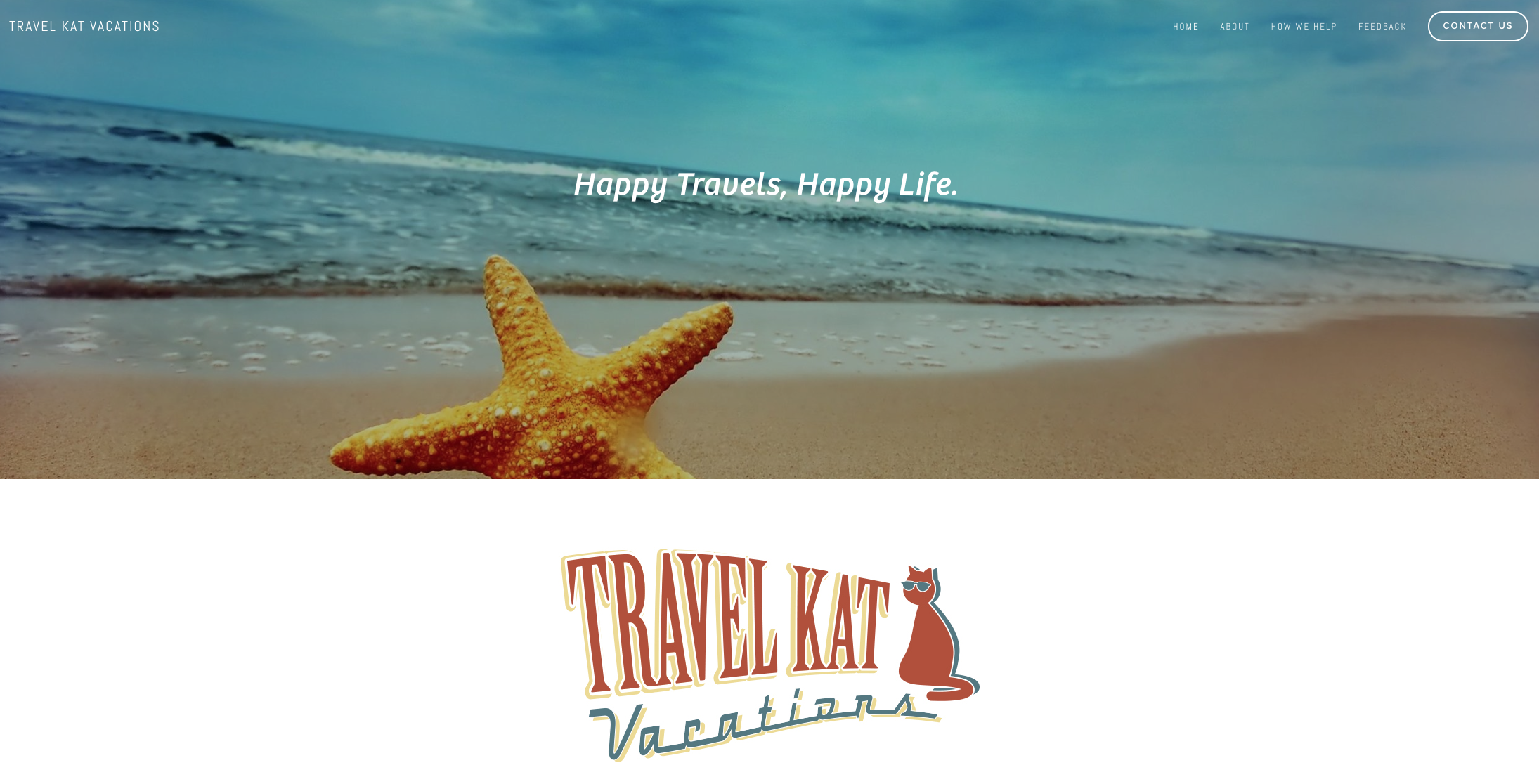 travel kat vacations website